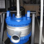 Duplex Discharge Swivel for Large Diameter DTH Work